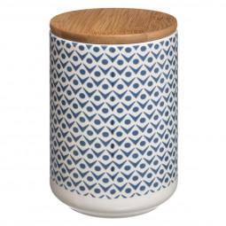Bocal céramique/bois scandinave H14