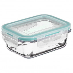 Boîte verre rectangle clipeat 1.73L