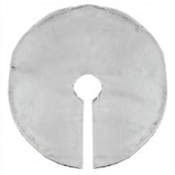 Décoration de noël Tapis de sapin en fourrure grise D 90 cm Les incontournables
