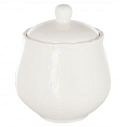 Pot à sucre en Porcelaine 10 cm Comptoir de Noël