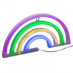 Arc en ciel LED néon multicolore