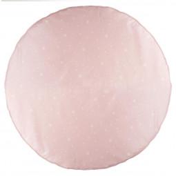 Tapis pour tipi rose D 120 cm