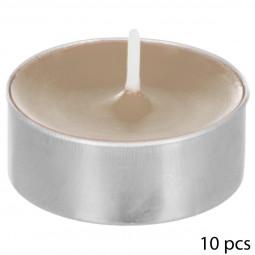 Lot de 10 bougies parfumées orchidée nina