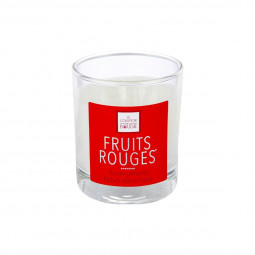 Bougie parfumée fruits rouges elea 190g