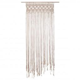 Rideau fil macramé été indien 90 x 200 cm