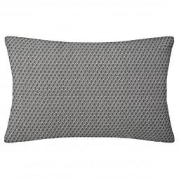 Coussin motif otto gris 30x50 cm