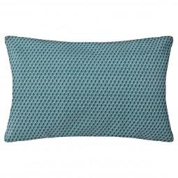 Coussin motif otto bleu 30x50 cm