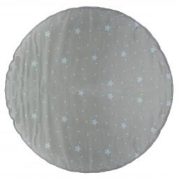 Tapis rond pour tipi gris D 120 cm
