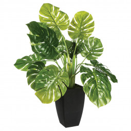 Plante artificielle verte en pot H70