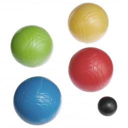 Set de 8 boules de pétanque et cochonnet