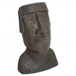 Statue ile paques en résine H 26