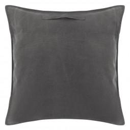 Coussin de sol gris collect moments 70 x 70 cm