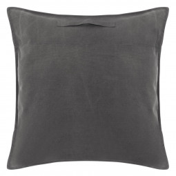 Coussin de sol gris collect moments 70 x70 cm