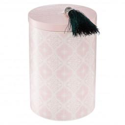 Bougie parfumée pot avec couvercle bois la dolce vita couvercle 210G