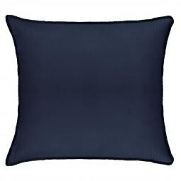 Coussin Crink Bleu foncé 40x40 cm