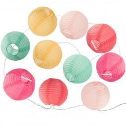 Guirlande 10 LED multicolore bohemian dream fonctionne à piles