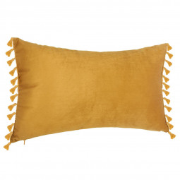 Coussin velours spirit ocre 30x50