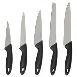 Lot de 5 couteaux avec bloc de rangement
