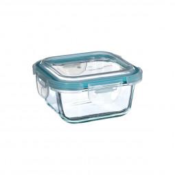 Boite verre carrée clipeat 330ml