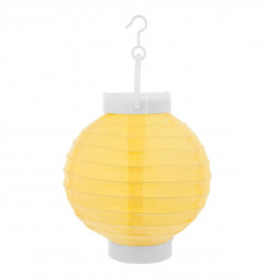 Lot de 4 Lanternes boule LED