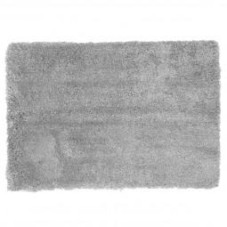 Tapis doux microfibre gris clair 60x90 cm