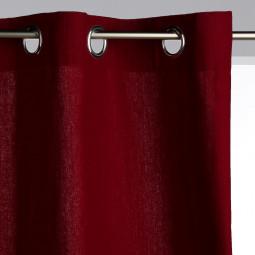 Rideau Panama Rouge 140 x 260 cm