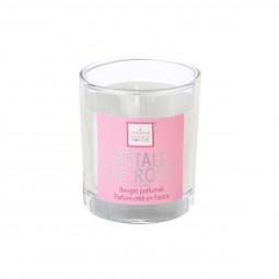 Bougie parfumée pétale de rose D8