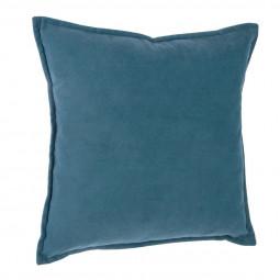 "Coussin bleu ""Lilou"" 45x45"