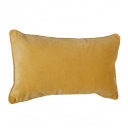 "Coussin ocre ""Lilou"" 30X50"