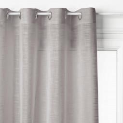 Voilage gris Alton 140 x 240 cm