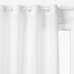 Voilage blanc Alton 140 x 240 cm