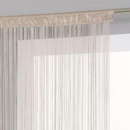 Rideau de fil lin 90 x 200 cm