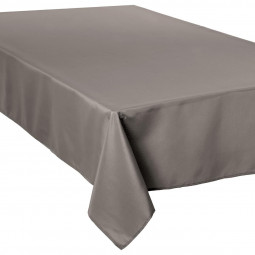Nappe anti-tâche taupe 150X300