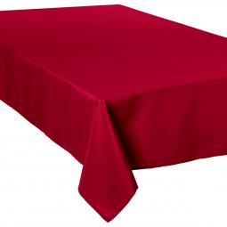 Nappe anti-tâche rouge 150x300 cm