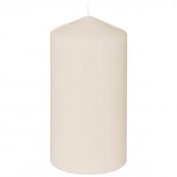 Bougie ronde parfumée vanille H.14