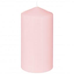 Bougie ronde parfumée rose H.14
