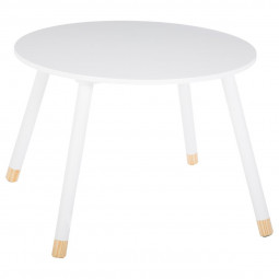 Table blanche pour chambre d'enfant