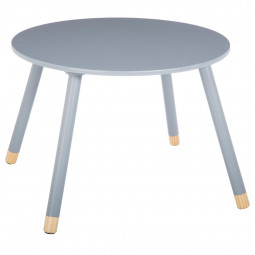 "Table gris ""Douceur"""
