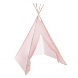 Tipi décoration enfant rose H160