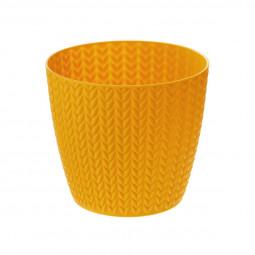 Pot motif épis de blé D 12.8 x H 11.2 cm