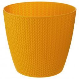 Pot motif épis de blé D 19  x H 17 cm