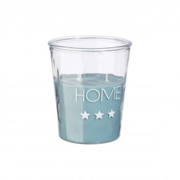 Bougie parfumée menthe bleu Home D18