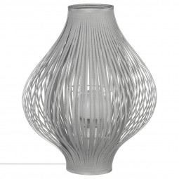 "Lampe pliante grise ""Yisa"" H45"