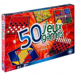 Jeu de société - boîte de 50 jeux