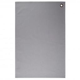 Lot de 2 torchons gris clairs en coton 45x70 cm