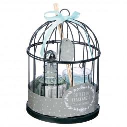 Coffret cage + diffuseur + bougie D14
