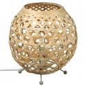 """Lampe ronde """"Yazu"""" en bambou H21,5"""