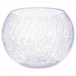 Vase boule craquelé D20xH15