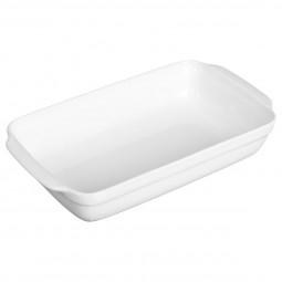 Plat rectangle blanc céramique 32X17