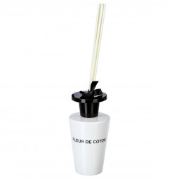 Diffuseur Fleur de Coton 150 ml + 6 bâtons